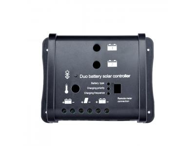 12V/24V Duo Battery Solar Controller 10A 20A
